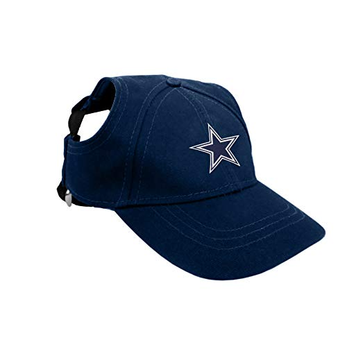 NFL Dallas Cowboys Pet Baseball Hat, Small