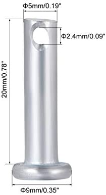 New FH-120-5ZI Self-Clinching Pins .120 inch OD x .312 inch Long Steel Package of 100#PL1317-A Warranity by Pr-Merchant