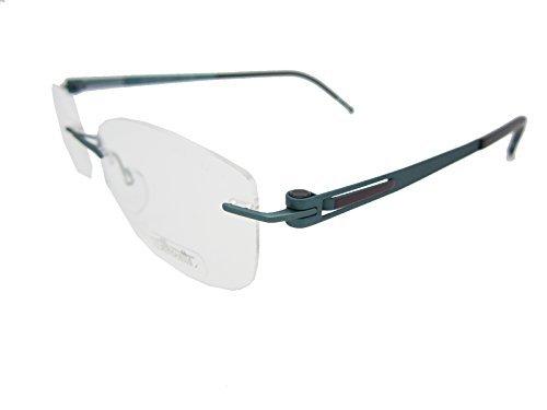 Silhouette LITE Twist 4418/40 Eyeglasses 6065 Teal Peacoc...