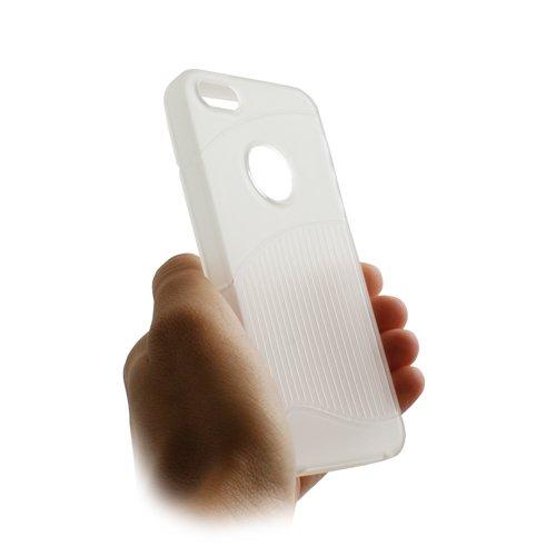 System-S Silikon Tasche Case Cover Skin Schutz Hülle Transparent für Apple iPhone 5