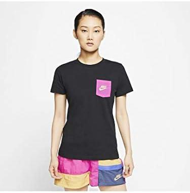 ウィメンズ アイコン クラッシュ Tシャツ Tシャツ (CT8855) (010)ブラック S