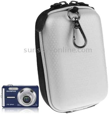 Color : Black Size GuiPing Universal Mini Digital Leather Camera Bag 130 x 85 x 55mm Durable