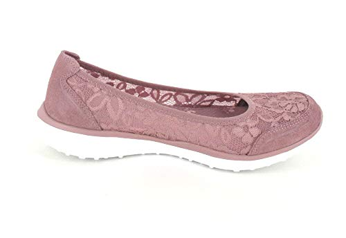 Skechers Sintético Rosa De Mujer Para Morado Bailarinas PpFxPq1