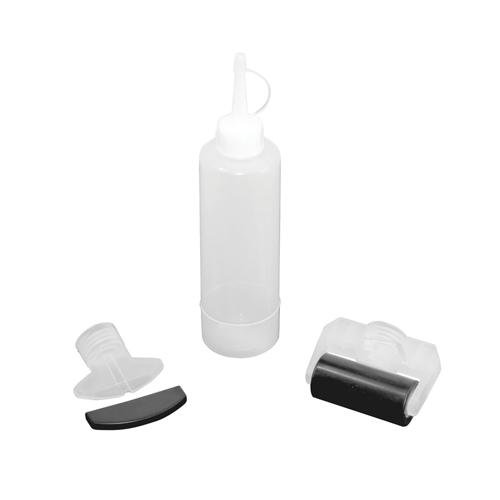 - 250ml Woodworkers Glue Bottle Kit - Dowel, Biscuit Join Blade, Wide Roller