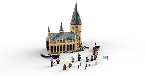 31OKTbN5KCL - LEGO 6212644 75954 Harry Potter Hogwarts Great Hall Building Kit, 878 Pieces