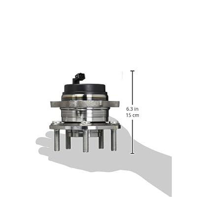 WJB WA512326HD Heavy Duty Version Rear Wheel Hub Assembly Wheel Bearing Module Cross Timken 512326 Moog 512326 SKF BR930646, 1 Pack: Automotive