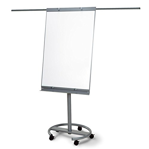 Master of Boards® Mobile Flipchart - Ultra Vision | Height Adjustable with Side Arms by Master of Boards