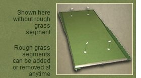 Extreme Green Champion Golf 8' X 17' Practice Chipping Putting Trainer by Extreme Green