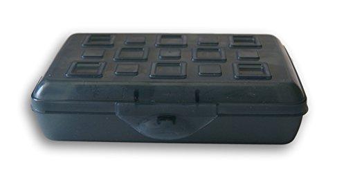 Sterilite Pencil Box Lid Black