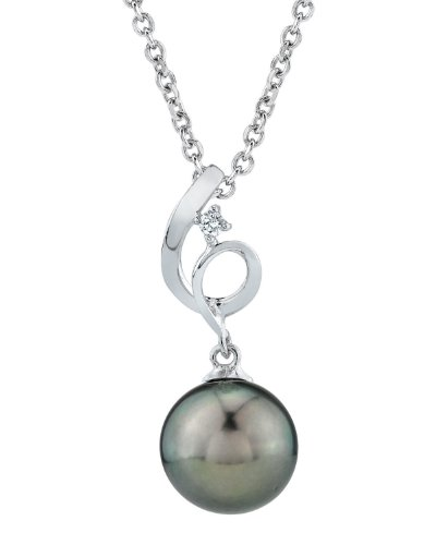 14K-Gold-Tahitian-South-Sea-Cultured-Pearl-Diamond-Symphony-Pendant-Necklace