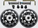 Luggage Wheel Set - 76mm Wheel Size