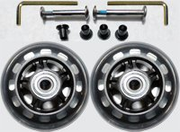 Price comparison product image Luggage Wheel Set - 76mm Wheel Size