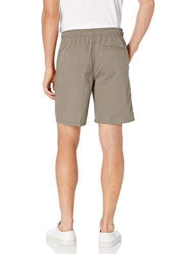 "Image of Amazon Essentials Men's 8"" Inseam Drawstring Walk Short, Khaki, Large"
