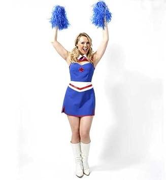 Cheerleader Damen Kleid 36 - 42 narrenwelt