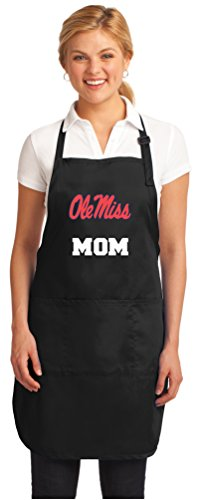 Broad Bay Ole Miss Mom Aprons University of Mississippi Mom w/Pockets Grilling Gift Her