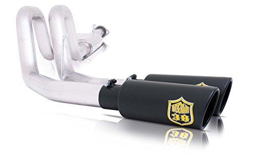 Gibson Performance Exhaust 65701D Deegan38 Cat Back Dual Sport Exhaust System