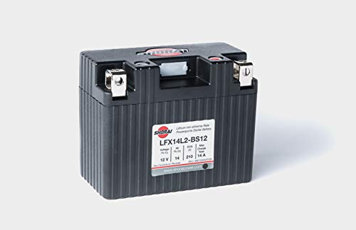 Shorai LFX14L2-BS12 Extreme Rate Lithium Iron Powersports Battery