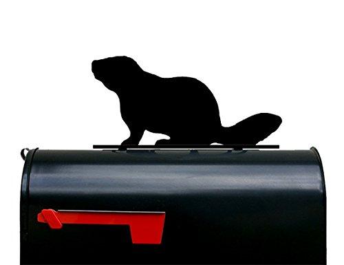 NewnanMetalWorks Beaver Mailbox Topper/Sign