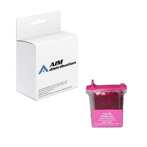 AIM Compatible Replacement for Innovera IVR20004M Magenta Inkjet - Compatible to Brother LC-04M - Generic