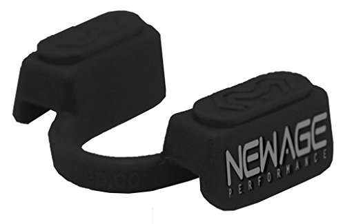 New Age Performance 5DS Sports And Fitness Cardio-Based Activities Mouthpiece - Lower Jaw - No-Contact - Black