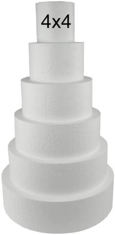 Cake Dummies Dummy Stand Fake Tier Polystyrene Baking Decoration Icing False DIY