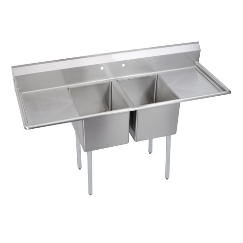 Two Compartment Utility Sink - 9