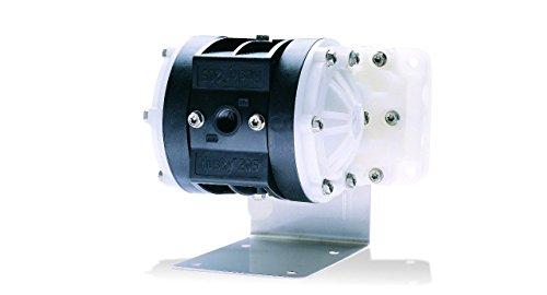 Graco Husky D12091 Polypropylene Double Diaphragm Pump, 1/4