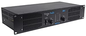 Torque Audio by Technical Pro AW1 1000 Watt 2-Channel DJ or Live Sound Rack Mount Power Amplifier from TECHNICAL PRO