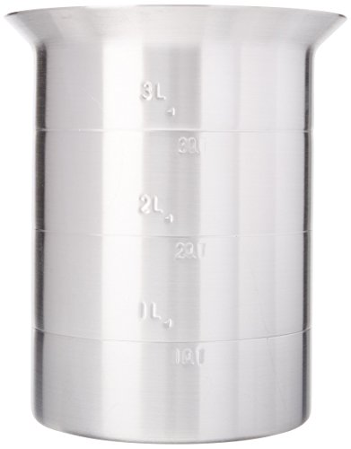 Crestware 4-Quart Aluminum Liquid Measures (Aluminum Liquid Measure)