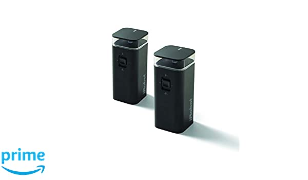 Amazon.com - iRobot Dual Mode Virtual Wall Barrier, 2-Pack Accessories, Black -