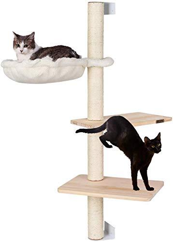 pedy Kratzbaum Katzen, Wandkratzbaum für Kätzchen, Kratzbrett Katzenbaum, Katzenkratzbaum, Kletterbaum, Katzenkratzbäume…