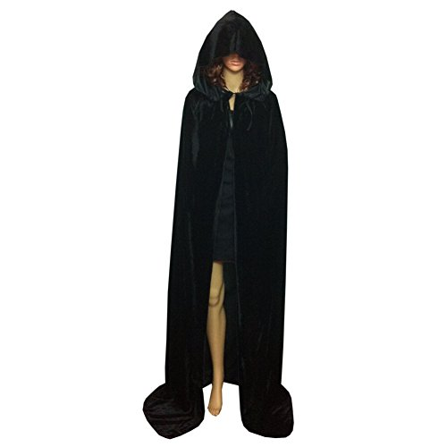 Smartcoco Halloween Cosplay Hooded Sleeveless Cloak Adult Halloween Party Costumes Capes(S-XL)