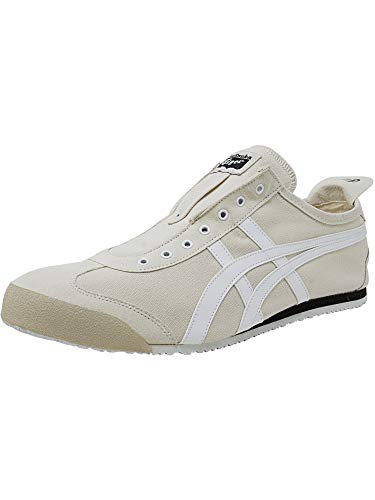 Onitsuka Slip Unisex Mexico adult Birch white Tiger Shoes on 66 7ZBw7Sq