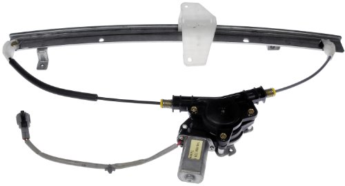 Power Window Regulator Driver Pathfinder - Dorman 748-980 Rear Driver Side Power Window Regulator and Motor Assembly for Select Nissan Models