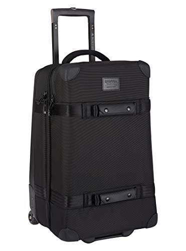 Burton Wheelie Cargo Travel Bag, True Black Ballistic, One Size
