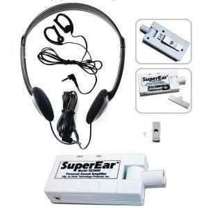 SuperEar - Amplificador de sonido personal, modelo SE5000 (actualización reestructurada de SE4000 discontinuo), aumenta el sonido ambiente, ganancia 50 db: ...