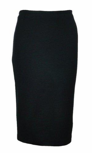 Sutton Studio Womens Side Zipper Ponte Pencil Skirt Petites (PS, (Nylon Petite Skirt)