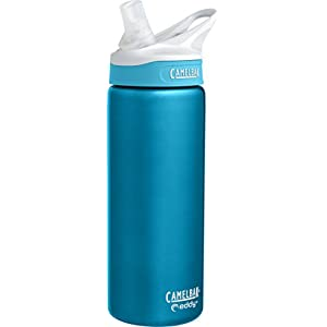 CamelBak Eddy Vacuum Insulated Stainless Water Bottle, 0.6 L, Rain