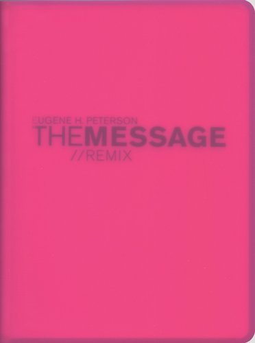 Message Remix 2.0 Bible-MS-Numbered Hypercolor by Eugene H Peterson (17-Feb-2007) Turtleback