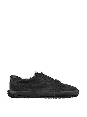 Superga 2832- SUEU S001H60 - Zapatillas fashion de ante para mujer Negro (Schwarz/Full Black)