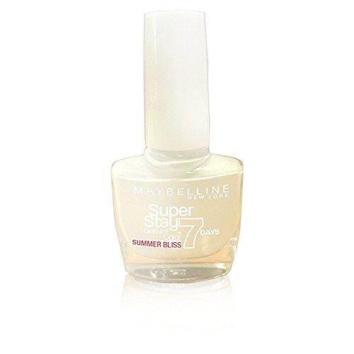 Maybelline Superstay 7 Days Gel 871 White Sail Nail Polish 10ml by Maybelline