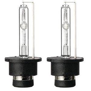 Lumenon HID Xenon Conversion Headlight Replacement Bulbs 1 pair (D2 D2S D2R D2C, 10000k Ocean Blue)