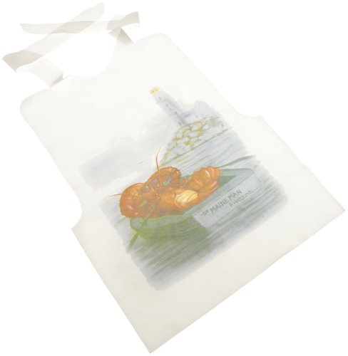 Regency Bibs with Seafood Themed Designer Print ,