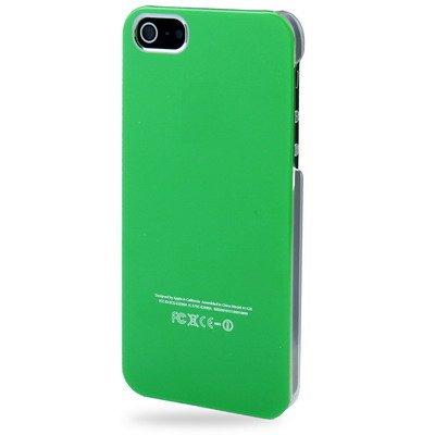 """iPhone 5S Hülle / Case / Cover in grün mit transparentem Rand aus hochwertigem Polycarbonat im """"Crystal-Clean-Style"""" -ORIGINAL nur von THESMARTGUARD-"""