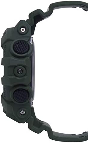 Casio Men's XL Series G-Shock Quartz 200M WR Shock Resistant Resin Color: Matte Olive Green (Model GA-700UC-3ACR) WeeklyReviewer