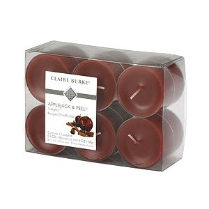 Claire Burke Applejack and Peel Tea Lights Scented Candle