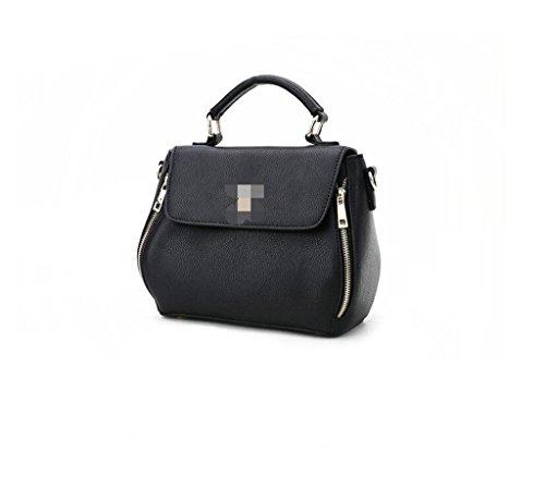 Ideal Hecho Cuero RFID Genuina Bloqueo de Mano a Capacidad Gran Sucastle bolsos 2 y 2 hombro Genuino para trabajo Mujer viaje IxqPw8w6