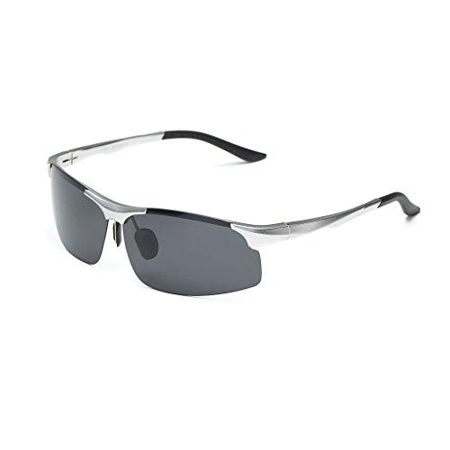 La gafas Plata LX de de conducen de que deporte polarizadas La LSX sol sol Plata conducción Gafas los las nuevas de del hombres Color qn4B17