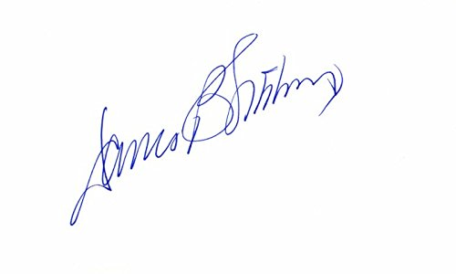 - James Sikking Signed - Autographed 3x5 inch Index Card - Hill Street Blues - Doogie Howser, M.D. Actor