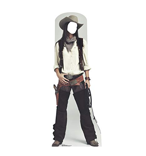 Advanced Graphics Wild West Cowgirl Stand-in Life Size Cardboard Cutout Standup -
